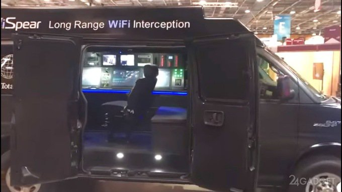 Фургон SpearHead 360 любого сделает хакером (2 фото + видео)