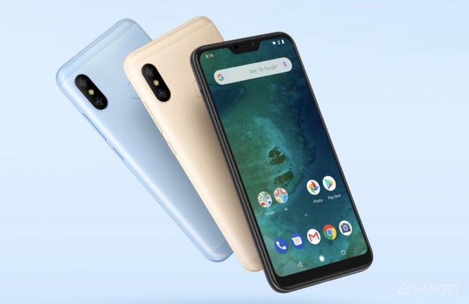 Xiaomi Mi A2 и Mi A2 Lite — смартфоны на чистой Android 8.1 Oreo (13 фото + видео)