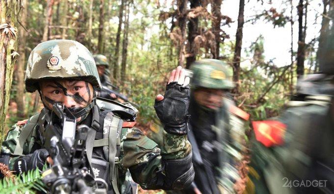 Китай вооружится лазерными винтовками (2 фото)