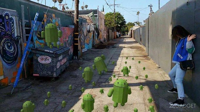Google расширила список смартфонов, поддерживающих ARCore (видео)