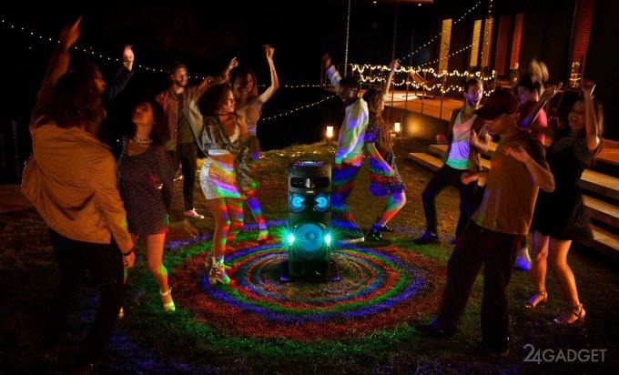 Sony выпустила новые аудиосистемы для вечеринок на улице и в доме (12 фото + видео)