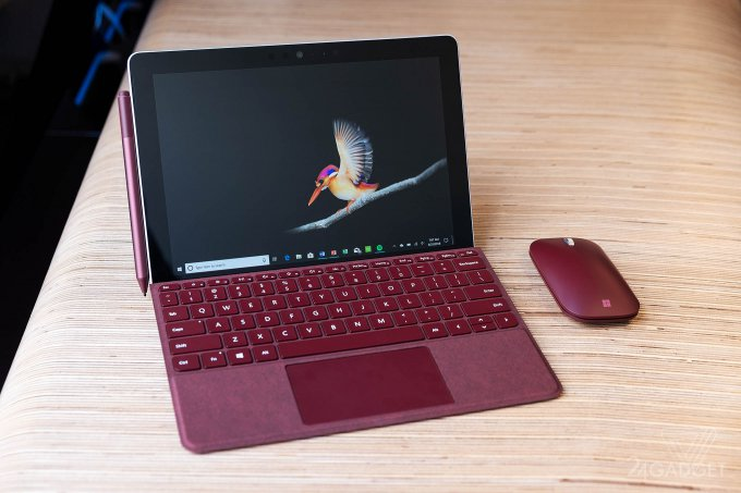 Microsoft представила планшет Surface Go за $399 (13 фото + видео)
