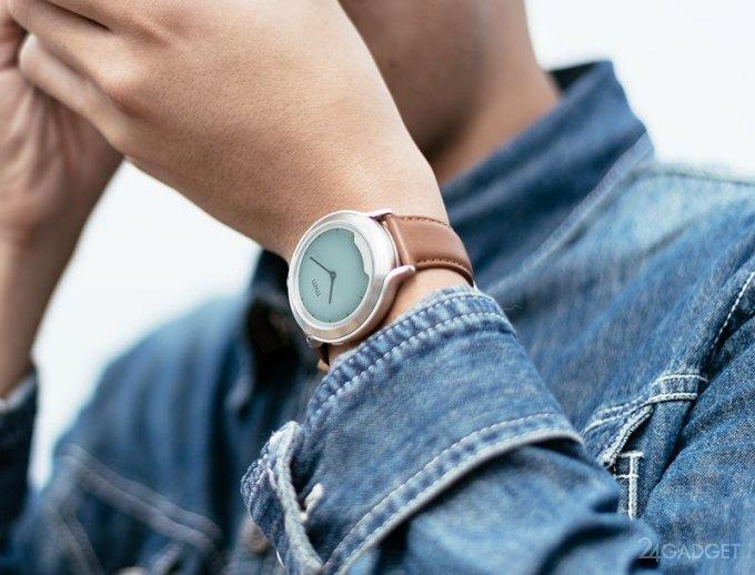 Mim X — умные часы с невидимым дисплеем и классическим дизайном (9 фото + видео)