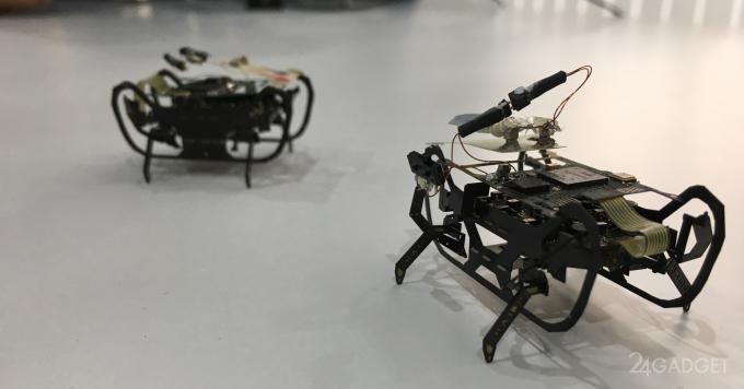 Rolls-Royce запустит роботараканов в авиадвигатели
