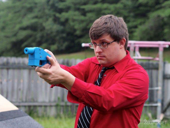 В США разрешили распространение чертежей оружия для 3D-принтера