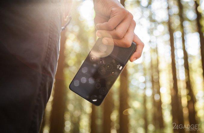 Флагман от Nokia получит возможности многомодульной камеры Light (3 фото)