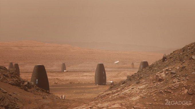 Конкурс NASA определил лучшие марсианские дома (5 фото + 5 видео)