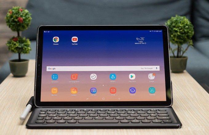 Samsung выпустил планшеты Galaxy Tab S4 и Tab A 10.5 с модулем LTE (7 фото + видео)