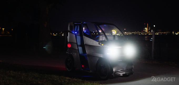 Новый электромобиль-трансформер iEV X умеет растягиваться (7 фото + видео)