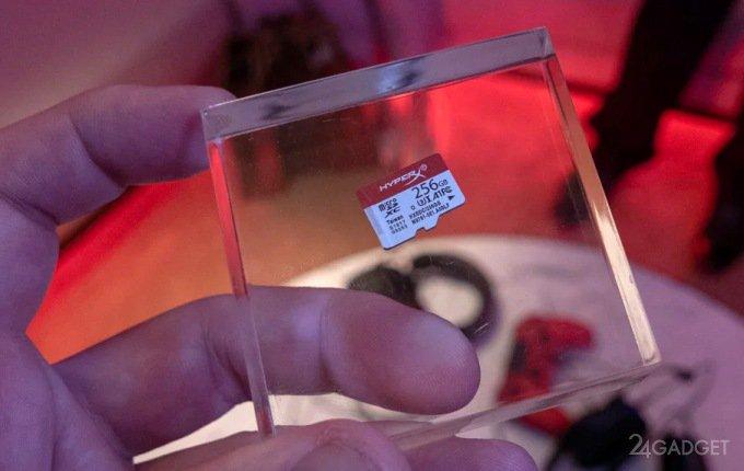 Kingston HyperX — теперь и карты памяти microSD для геймеров (2 фото)