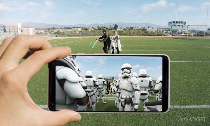 Новинки от Xiaomi и Samsung тоже поддерживают ARCore (2 фото + видео)