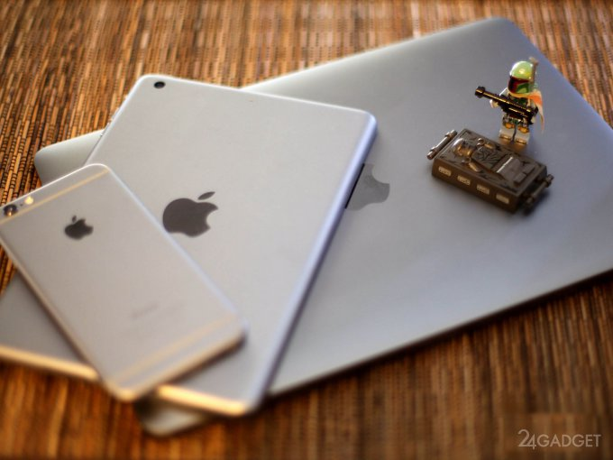 Гаджеты Apple смогут заряжать друг друга (5 фото)