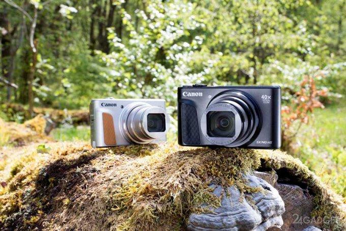 Canon PowerShot SX740 HS — компакт с 40-кратным зумом, WiFi и Bluetooth (7 фото)