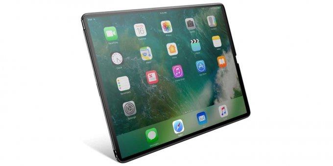 У нового iPad Pro будут тонкие рамки и Face ID (3 фото)