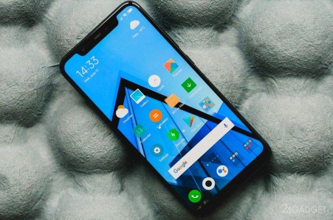 Смартфон Xiaomi Pocophone F1 появился в онлайн-магазинах до анонса (8 фото)