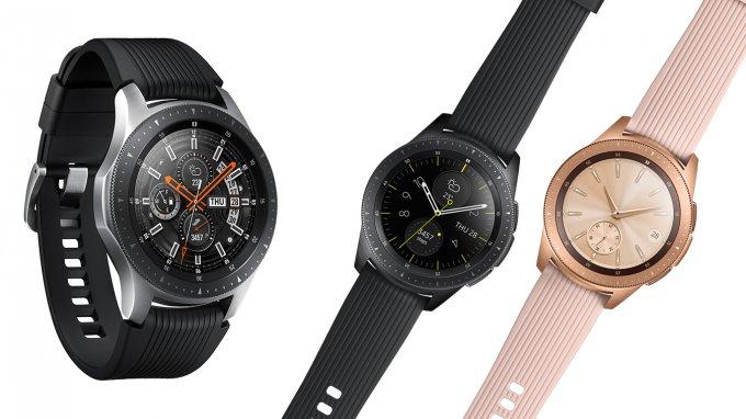 Samsung представила новые смарт-часы Galaxy Watch (9 фото)