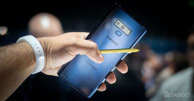 Samsung Galaxy Note 9 подвергли вскрытию и сравнению (9 фото)