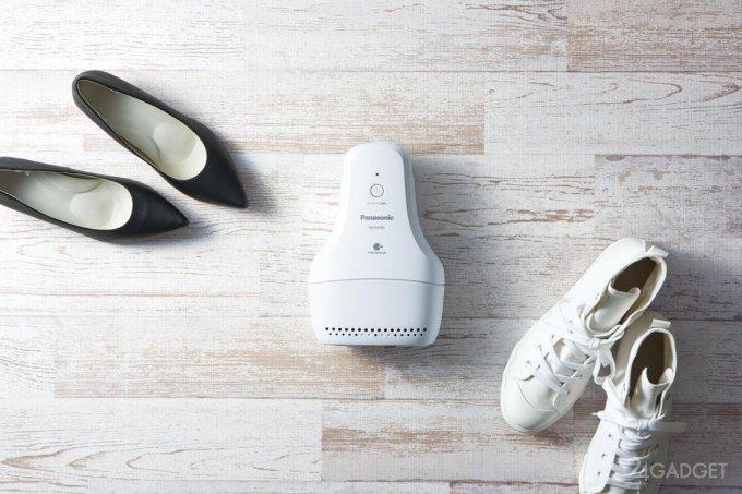 MS-DS100 – полезный электронный гаджет для обуви от Panasonic (4 фото)