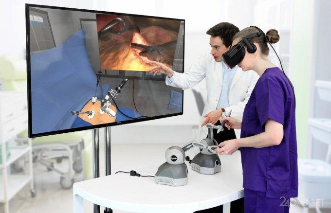 Хирурги оттачивают своё мастерство через виртуальную реальность (4 фото + видео)