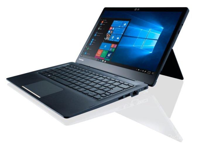 Toshiba выпустила бизнес-планшет Portege X30Т со сменной клавиатурой (6 фото)
