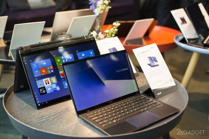 Новинки Asus: ноутбуки ZenBook от с уникальными тачпадами и многое другое (14 фото)