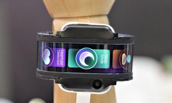 Nubia привезла на выставку гибкий смартфон-часы (12 фото + видео)