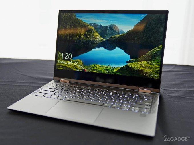 Lenovo Yoga C630 WOS: ноутбук-трансформер с 25-часовой автономностью (11 фото + видео)