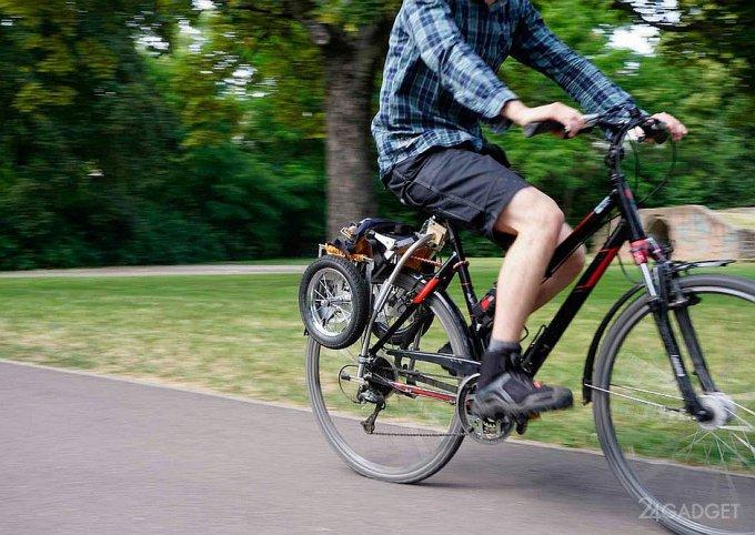 Trenux – складной велосипедный прицеп (7 фото + видео)