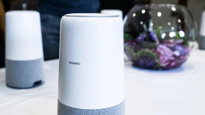 Huawei AI Cube — умная колонка-роутер с поддержкой Alexa (9 фото + видео)