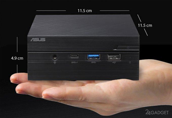 ASUS Mini PC PN60: мини-ПК, помещающийся на ладони (2 фото)