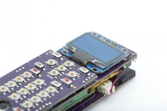 ZeroPhone - смартфон на базе одноплатного ПК Raspberry Pi (4 фото)
