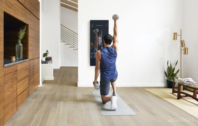 Mirror — смарт-зеркало, заменяющее спортзал и тренера (6 фото + видео)