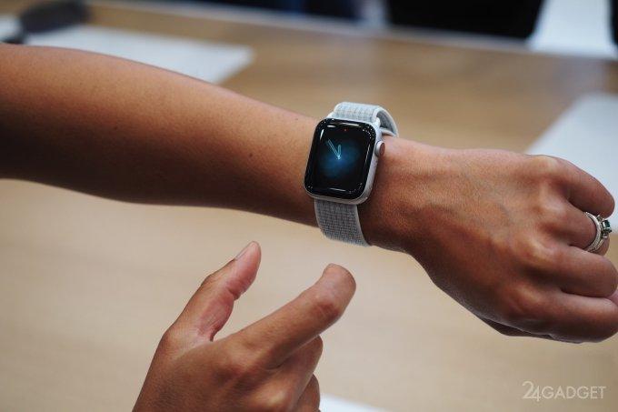 Apple Watch Series 4 - первые умные часы с ЭКГ-датчиком (15 фото)