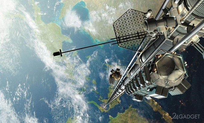 Япония первой в мире испытает прототип космического лифта