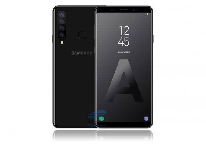 Четырехглазый смартфон от Samsung показал свое лицо