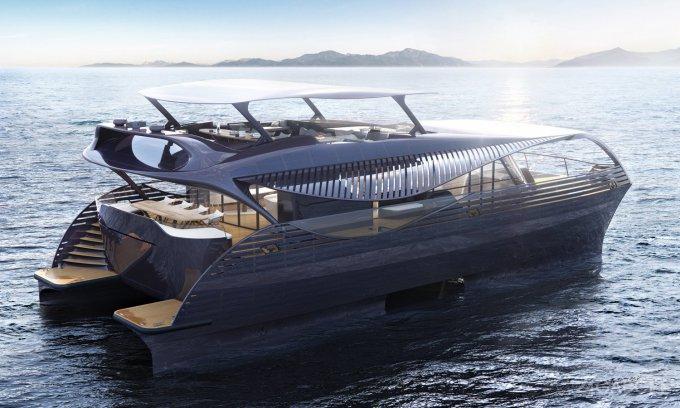 Первая в мире солнечная яхта способна путешествовать вечно (8 фото)