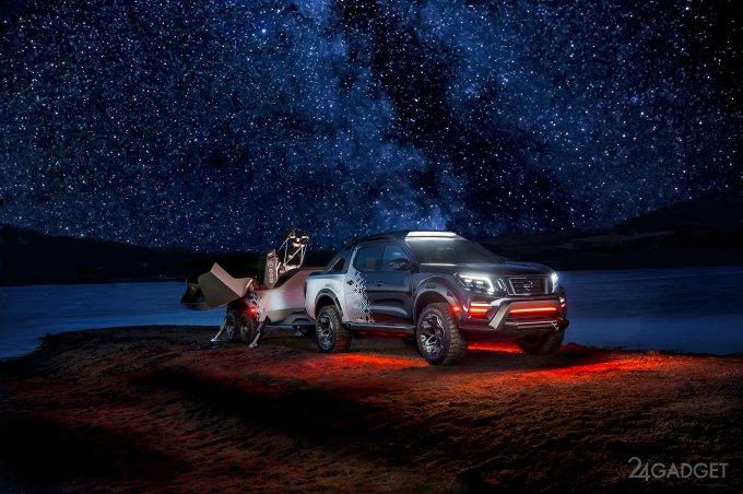 Nissan Navara Dark Sky — мобильная обсерватория на колёсах (8 фото + видео)