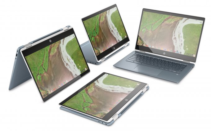 HP Chromebook x360 14 — трансформер на базе Intel Core 8-го поколения