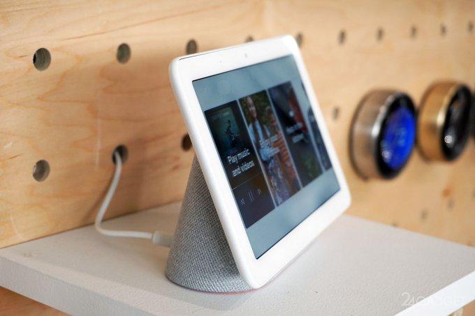 Умный дисплей-динамик Google Home Hub не будет видеошпионом (9 фото + видео)