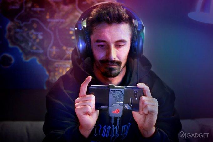 Рассекречены дата выхода и цена игрового смартфона Asus ROG Phone (9 фото + видео)