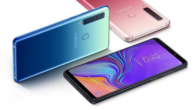 Samsung Galaxy A9 (2018) удивил четырьмя камерами (8 фото)