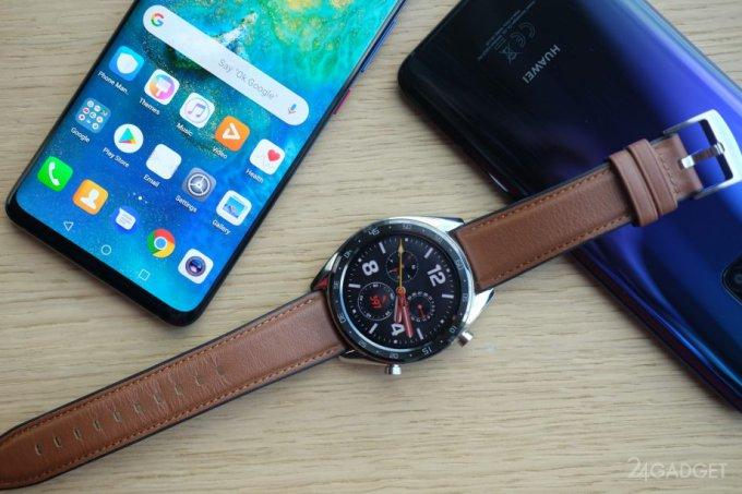 Huawei Watch GT и Band 3 Pro — собственная LightOS и увеличенная автономность (12 фото)