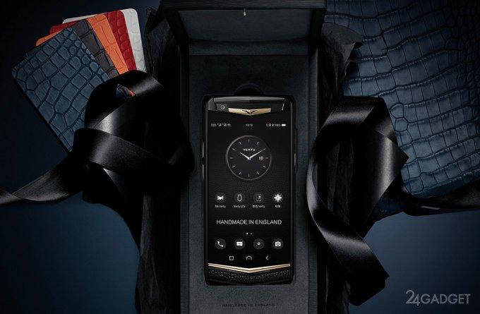Vertu вернулась с элитным смартфоном за 1 миллион рублей (14 фото)