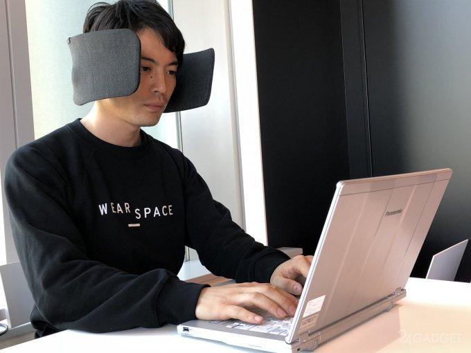 Японские шоры защитят от шумных коллег в офисе (12 фото + видео)