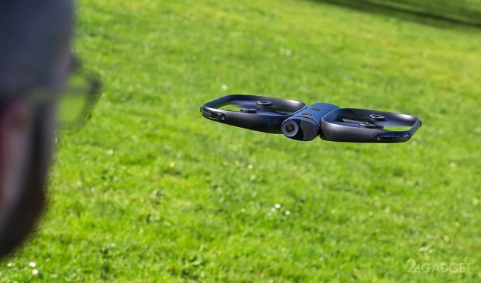 Селфи-дроном теперь можно управлять через Apple Watch (9 фото + видео)