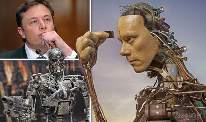 """Илон Маск: """"Для противостояния ИИ надо слиться с машинами"""""""