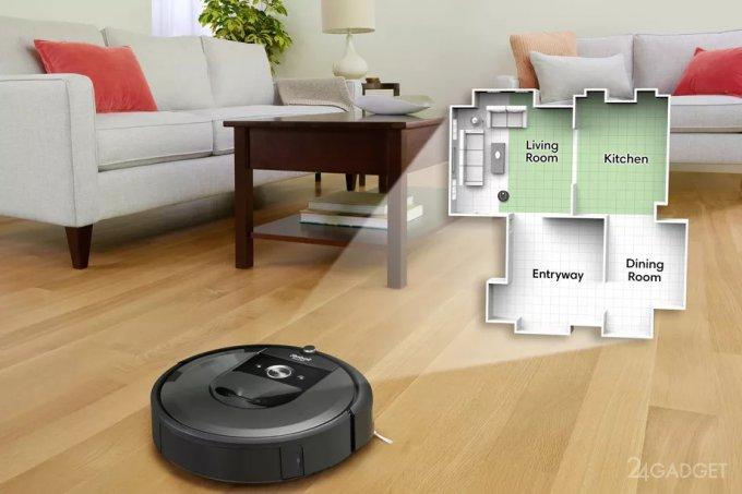 Google узнает всё о вашем доме через iRobot (3 фото)