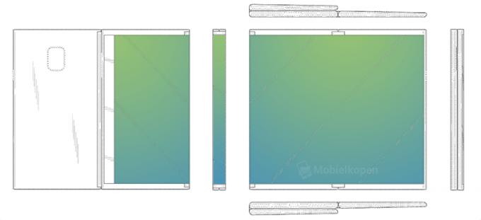 Гибкий планшет от Samsung складывается втрое (3 фото + видео)