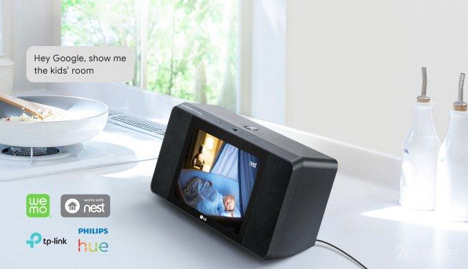 LG выпустила смарт-дисплей с камерой, колонками и помощником Google (8 фото)