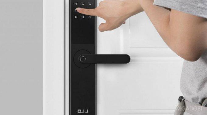 Новый смарт-замок от Xiaomi можно разблокировать 6 способами (3 фото)